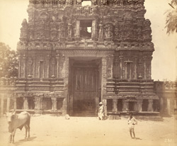 Front gopura, Chintalrayasvami Temple, Tadpatri, Anantapur District